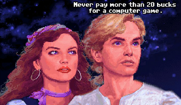 Wise words from Monkey Island